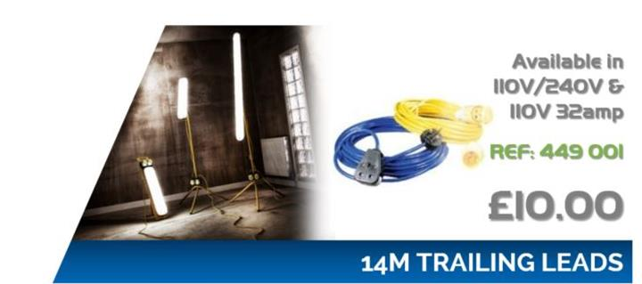14m Trailing Leads Offers 17