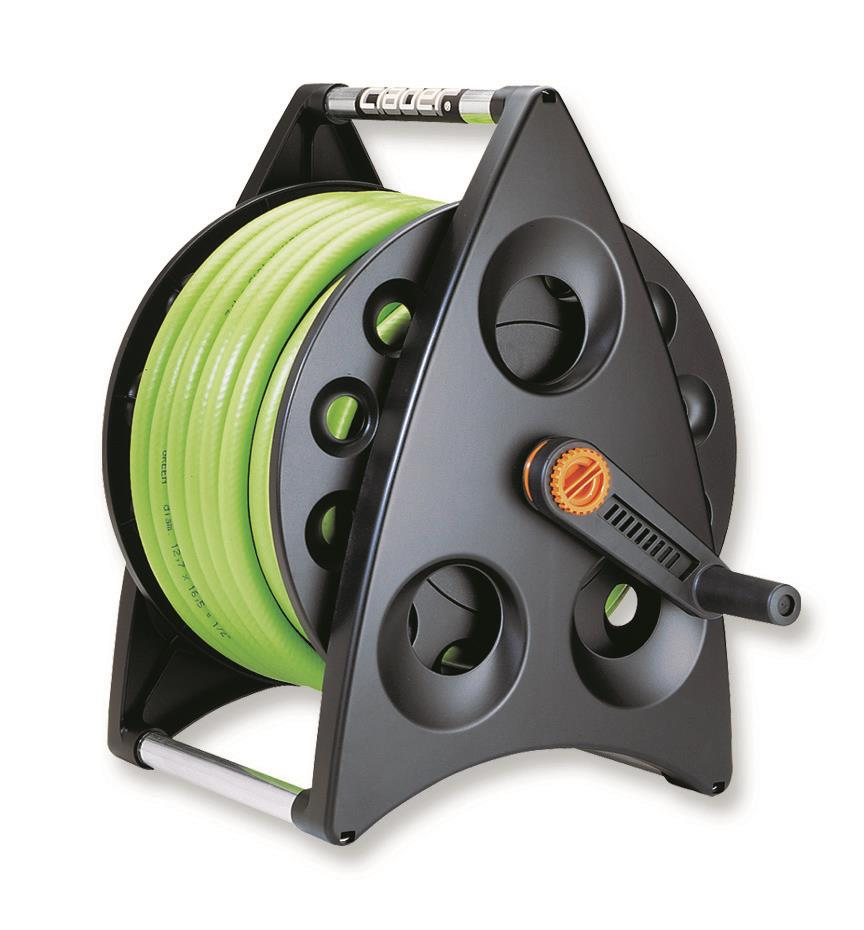 Claber Wall Mount Hose Reel With Hose Wessex Fixings